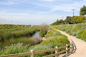 Dominguez Gap, Long Beach, by LA County Public Works, completed 2008