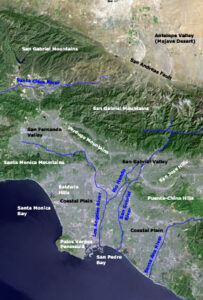 Nasa photo of the greater Los Angeles Area